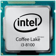 تصویر پردازنده مرکزی اینتل سری Coffee Lake مدل i3-8100