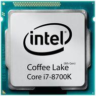 تصویر پردازنده مرکزی اینتل سری Coffee Lake مدل Core i7-8700K