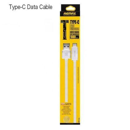 تصویر کابل تبدیل USB به Type-C ریمکس مدل RT-C1 به طول ا متر
