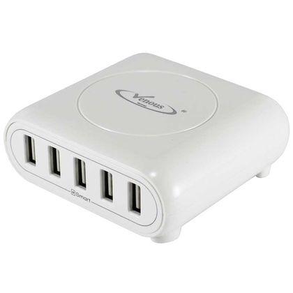 تصویر شارژر ۵ پورت Venous PV-CH56 5 USB Charger
