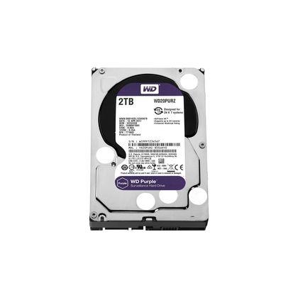 تصویر هارددیسک اینترنال وسترن دیجیتال مدل Purple WD20PURZ ظرفیت 2 ترابایت