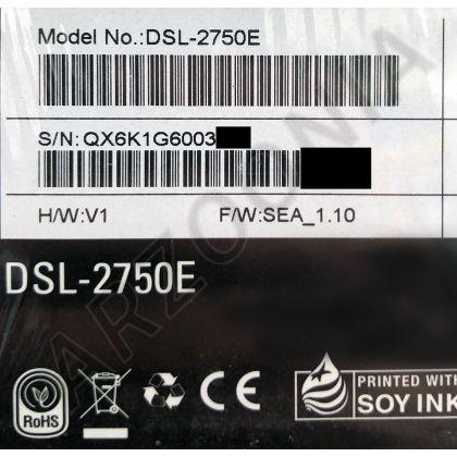 تصویر مودم روتر بی سیم ADSL2 Plus دی لینک مدل DSL-2750E