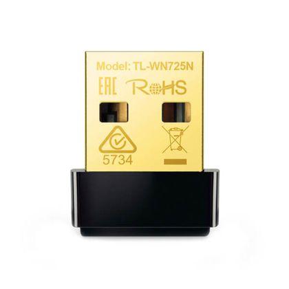 تصویر کارت شبکه بیسیم 150Mbps تی پی-لینک مدل TL-WN725N_V3